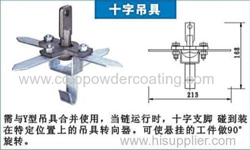 powder coating line hangers
