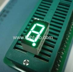 0.36 inch cathode pure green 7 segmetnt led display