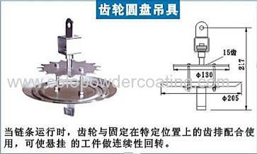 powder coating conveyor hanger