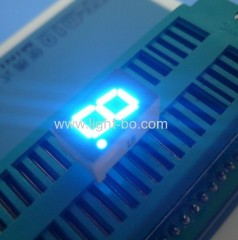 blue 7.62mm (0.3 inch) anode single digit 7 segment led display