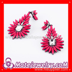 shourouk flower earrings for women