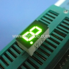 7.62mm (0.3 inch) anode green 7 segment led display