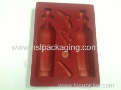 2013 New High Quality PS Flocking Tray
