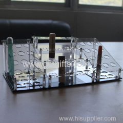 Hot popular and fashion lipstick holder acrylic cosmetic display