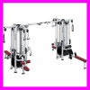 Multi 8 station machine strength equipment workout machine gym manufacturer