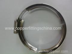 SS304/316 V Type Hose Clamp Supplier
