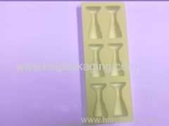 plastic PVC flocking tray