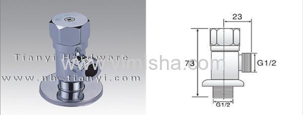 Brass Ceramic SheetTriangle Valve