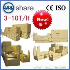 Efficient wood splitting machine