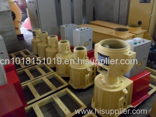 straw and wood pellet mill