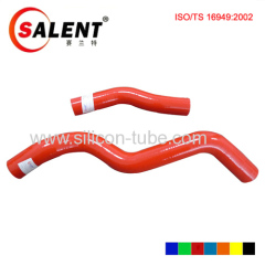 intercooler silicone hose kits LANCER EVO 1~3 CD9A CE9A(4G63) 4pcs