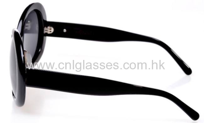 Prada style fashionable round sunglasses for men and women