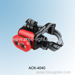 2013 New Design! 3 X AA High Power 120lumens Head light ACK-4040