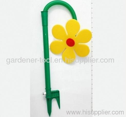 Garden Crazy Flower Sprinkler As Daisy/Water Dancing Flower Sprinkler As Daisy