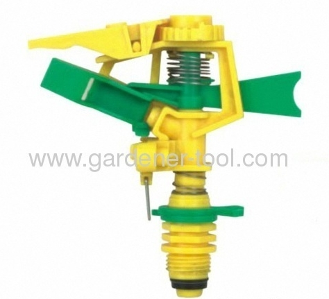 Plastic Farm Irrigation Sprinkler Head with plastic bearing sleeve
