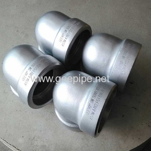 ASME B 16.11 forged sw 90 degree elbowclass3000