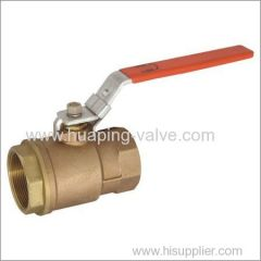 Two piece Standard Port Bronze ball Valve
