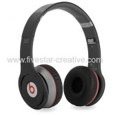 2013 Beats by Dr Dre Wireless Over-Ear Black Headphones