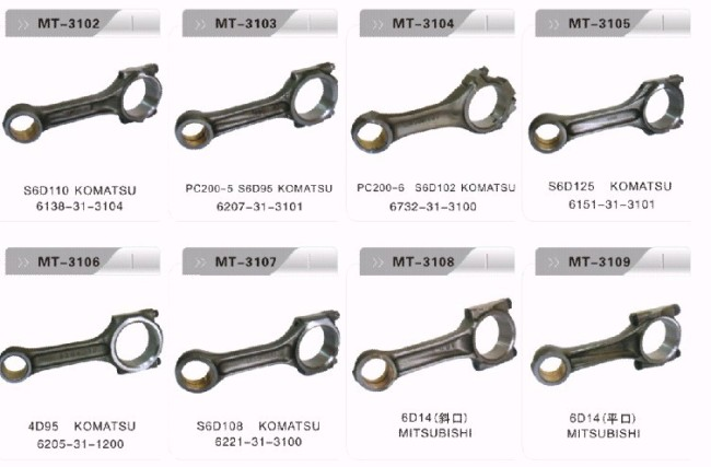 PC200-6 S6D102 CONNECTING ROD FOR EXCAVATOR