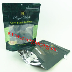 340g stand up aluminum laminated popcorn bag