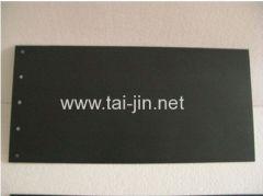 Manufacture of MMO Coated Titanium Anode for Aluminium Foil