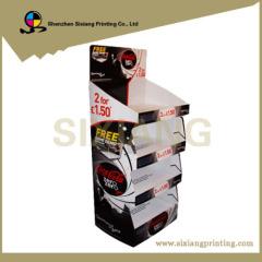 Custom Supermaket Cardboard Display Rack