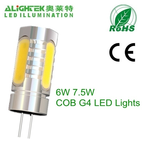 6w 7 5w cob g4 led lamp 7 5w 12v dc from china manufacturer alightek co limited. Black Bedroom Furniture Sets. Home Design Ideas
