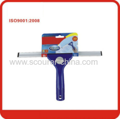 PP Aluminum Rubber Window squeegee cleaner with Color paper