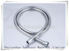 Stainless steel double lock shower hose