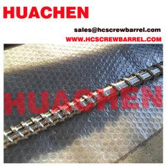 Bimetallic screw nitrided barrel