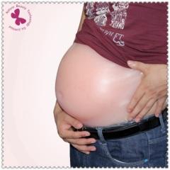 silicone artificial Pregnant Bump