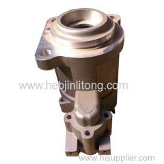 auto parts motor bracket aluminum die casting Prestolite M105