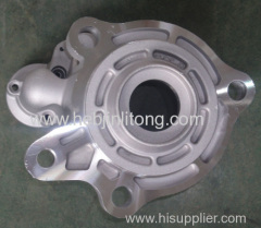 engineering machinery auto starter cover die casting parts