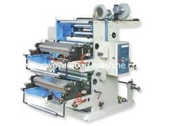 Two Colour Flexo Printing Machine HUABO