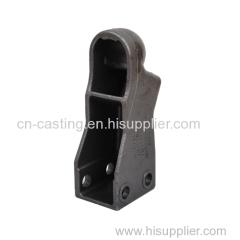 Automobile parts trailer coupler
