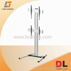DUAL VIDEO WALL FLOOR STAND
