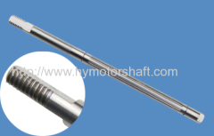 3 phase motor shafts gear shaft made in china