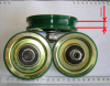 Kone elevator parts door hangle roller original new