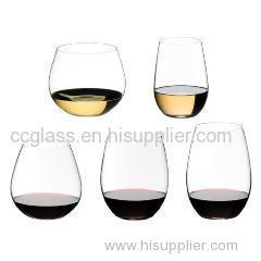 Hand Blown Stemless wine glass shot glass spirit glass