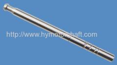 Helical coupling single phase electric motor refrigerator shaft