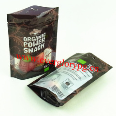 FOOD GRADE plastic stand up food packaging bag