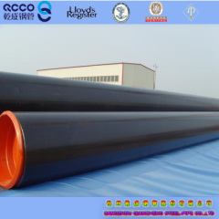 seamless steel pipe API 5L PSL1 X52 LINE PIPE