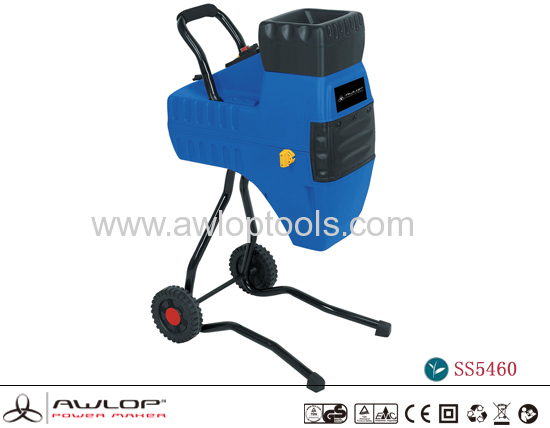 AWLOP 2000W Electric Wood Shredder Machine Chipper Shredder Garden Tools