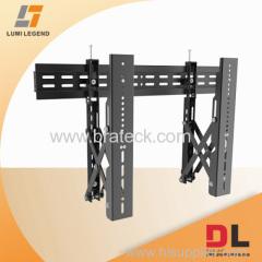 Pop up steel universal multi-screen video wall mounts