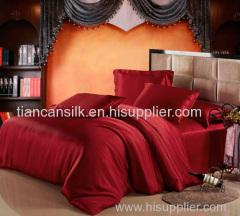 silk bedding set and silk bed linen
