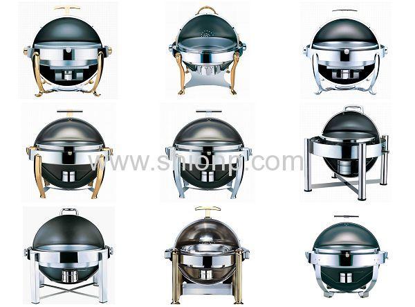 ST.ST Round chafing dish