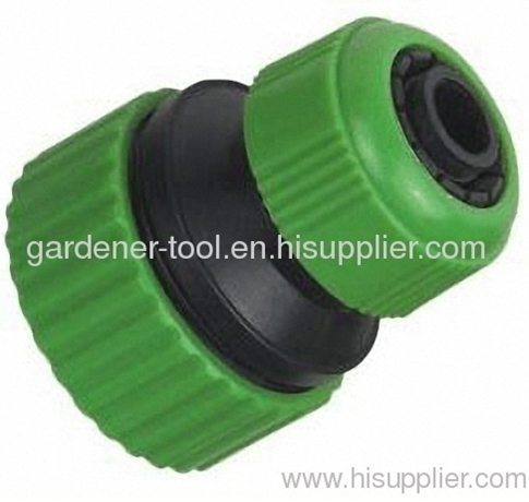 Plastic 1/2 -3/4garden water hose mender to connecting 1/2and 3/4PVC garden hose