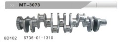 6D102 CRANKSHAFT FOR EXCAVATOR