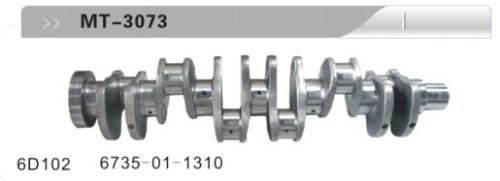 6D102 CRANKSHAFT FOR EXCAVATOR