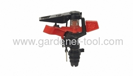 Plastic farm irrigation sprinkler for agriculture with 1/2bearing sleeve